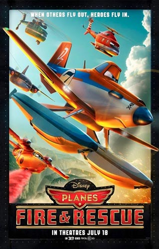 Planes: Fire & Rescue - Playing at the Lancaster Northern Nights Drive-In in NH