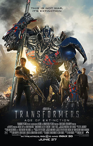 Transformers: Age of Extinction - Playing at the Lancaster Northern Nights Drive-In in NH